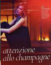 Q8 Clipping-Ritaglio 2013 Eva Riccobono ...ragazze attenzione allo Champagne