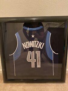 Dirk Nowitzki Signed Autographed Auto Basketball Jersey Global GA