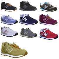New Balance Ml574 Mens Suede Leather Trainers