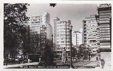 BRAZIL - S.Paulo - Avenida Ipiranga - Photo Postcard 1957