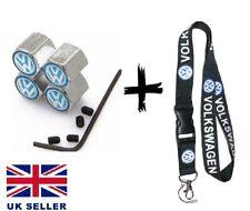 Volkswagen Lanyard Key ring key chain Lanyards for KEYS & ID ✅  VW dust caps
