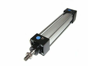 """Pneumatic 32mm 1/8"""" BSP Double Acting Cylinders Many Lengths 50-1000mm SC, UK"""