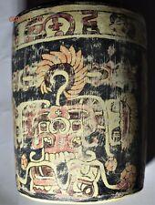 "Sale! Pre Columbian Mayan Crypt Vase, 6"" Prov"
