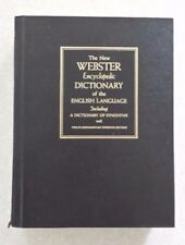 The New Webster Encyclopedia Dictionary of the English Language,Synonyms,Ref sec