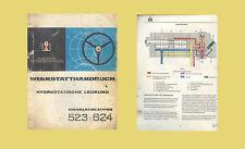 IHC INTERNATIONAL  Hydrostatische Lenkung 523 624 WerkstatthandbuchOriginal 1969