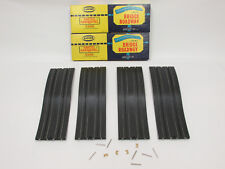 "AURORA MODEL MOTORING 9"" BRIDGE TRACKS ~ NOS IN BOXES (4PC) W/HRDWR ~ GORGEOUS!!"