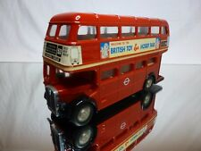 DANDY TOMICA F19 LONDON BUS - DOUBLE DECKER - RED 1:43 - GOOD CONDITION