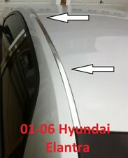 For 2001-2006 HYUNDAI ELANTRA CHROME ROOF TOP TRIM MOLDING KIT