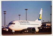 Linjeflyg Boeing 737 Postcard
