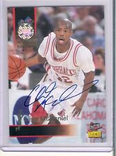 1995 Signature Arkansas Razorbacks Clint McDaniel Rookie Autograph Card