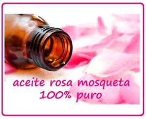 🌺 ACEITE ROSA MOSQUETA PREMIUM 🏆CHILE! ORGANICO VIRGEN BIO RUBIGINOSA ROSEHIP