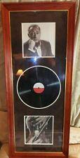 Violinist Jascha Heifetz Framed Display Signed -COA w/ 1938 Vintage Program