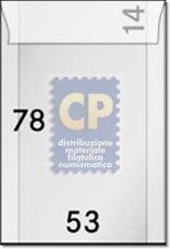 Lindner 702 Bustine trasparenti a Sacchetto 53 x 78 mm