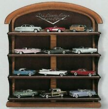 The Classic Cars Of The 50'S 12 Cars by Franklin Mint 1/43 with Display Shelf.