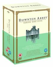 Downton Abbey Series 1-5 with Maggie Smith DVD Region 2