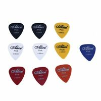 10x Plectrum Guitar Accessories Alice Guitar Pick 0.58mm WS