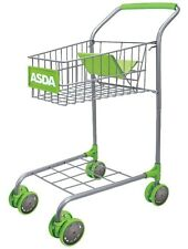 Asda Kids Toddlers Shopping Trolley Toy - Pretend Play Supermarket Push Cart