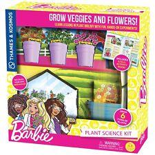 Barbie Plant Science Kit STEM Grow 8 Types of Plants Thames & Kosmos 549015