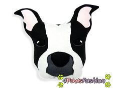 American Staffordshire Terrier Pillow. Kids Plush Art Toy. Handmade Stafford Dog