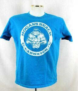 Authentic Life HOGANS Beach T-Shirt Clearwater Florida FL SIZE XL HULK  wwe nwo