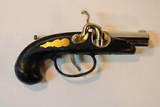 Vintage Mid-Century Modern Flintlock Dueling Pistol Table Lighter