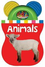 Baby Shaker Teethers Animals by Roger Priddy (2012, Board Book)