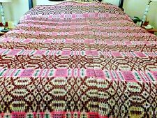 Antique woven wool homespun in very wonderful color 72 x 72 inches