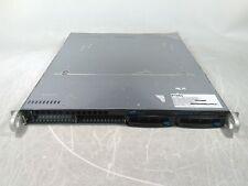 MSI MS-7312 Motherboard AMD Sempron 3200+ 1.80GHz 1GB 0HD Boots Includes 1U Case