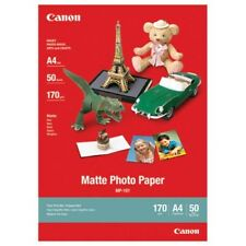 Canon mp-101 (A4) 170g / M2 Mate papel fotográfico (Blanco) 1 Pack of 50 hojas