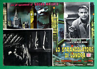 T12 Fotobusta Lo Würger Von London Edgar Wallace Fuchsberger Wilton 1