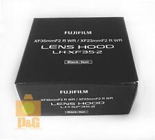 NEW FUJIFILM LH-XF35-2 LENS HOOD FOR XF35mm F2 R WR / XF23mm F2 R WR Lens
