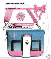 Sacoche T-Jean BAG Rose Compatible NINTENDO New 3Ds/ 3Ds / DS lite / DSi