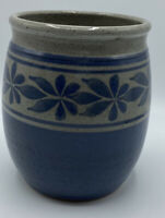 Vintage Blue Traverso 88 Pottery Pot