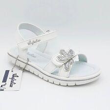 sandali da bambina aperti ginnastica scarpe per bimba estive in pelle a strappo