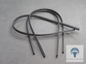 3x 700mm Essuie-Glace Remplacement Caoutchouc Raclette Molybdène pour Bosch