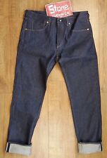 Levi's Made & Crafted Raw Rigid Redline Selvedge Tapered Jeans Zip W36 L35 £215