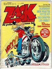 ZACK - Die großen Abenteuer unserer Zeit - Nr. 2 vom 11.01.1979