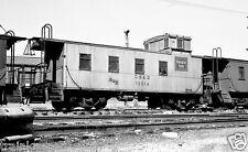 Burlington (CB&Q) Caboose #13514 Black & White Print