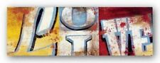 Actions For Now Rodney White Art Print 45x15