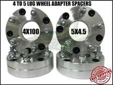 4x100 To 5x114.3 Wheel Adapter Spacers | 2 Inch Use 5 Lug Wheels On 4 Lug Car