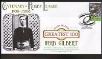 HERB GILBERT RABBITOHS  RUGBYs GREATEST 100 COVER
