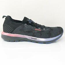 Brooks Womens Ricochet 2 1203031B015 Black Running Shoes Lace Up Size 10.5 B