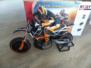 Reely Dirtbike Brushless 1:4 RC Motorrad Elektro RtR 2,4 GHz
