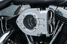 Kuryakyn Chrome Trim Clear Trap Door for Hyperchargers Harley Metric