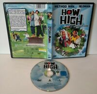 """HOW HIGH """"Method Man & Redman"""" DVD Pal zone 2 - Comme neuf"""