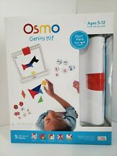 New Osmo Genius Kit Educational Play System- (Osmo iPad Base Included)
