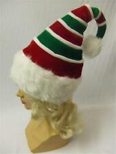 Elf Hat Curly Stripes Jingle Bells Santa Christmas Deluxe Who Village Helper