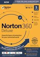 Symantec SYC940800F006 50GB Norton 360 Deluxe - 5 Devices