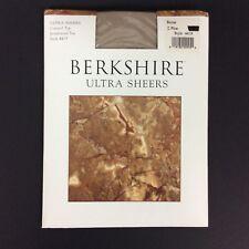 Berkshire Pantyhose 2 Plus Stone Greige Ultra Sheer Control Top Reinforced Toe