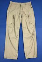 WPM utility pantalone uomo usato cargo relaxed W40 tg 54 gamba dritta T6222